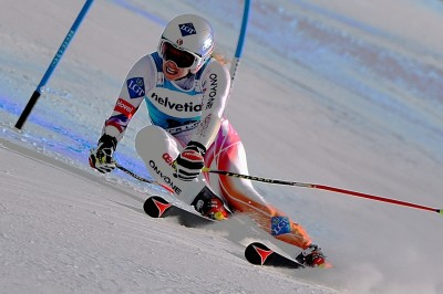 Tina Weirather 3rd Place Finish 2013 FIS Beaver Creek World Cup Giant Slalom