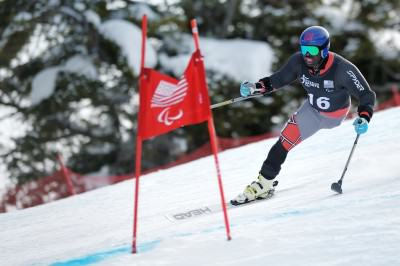 Team USA Ralph Green takes Aspen Gold 2014 IPC NorAm Downhill