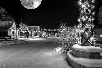 Eagle Moon Scape - by Doug Mayhew | Madographer