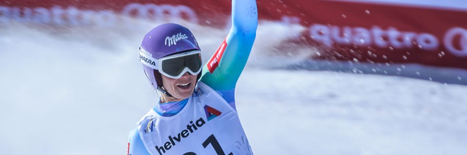Tina Maze 2015 FIS Alpine World Ski Championships Downhill Gold Medalist by Doug Mayhew | Madographer