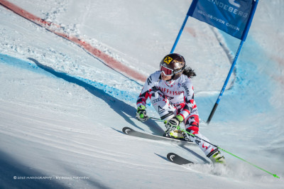 Anna Fenninger 2015 FIS Alpine World Ski Championships Giant Slalom Gold Medalist by photographer Doug Mayhew | Madographer