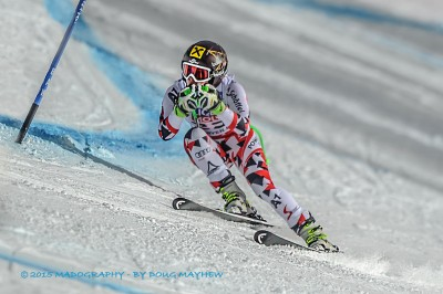 Anna Fenninger 2015 Vail Beaver Creek Super G Gold Medalist by Doug Mayhew | Madographer