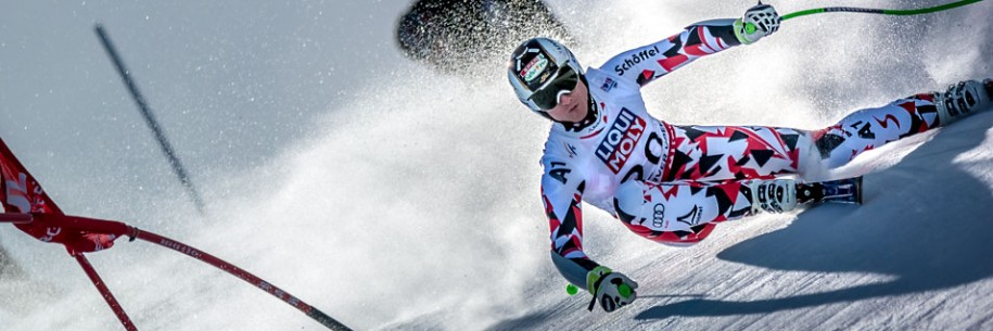 Hannes Reichelt 2015 Vail Beaver Creek Super G Gold Medalist by Doug Mayhew | Madographer