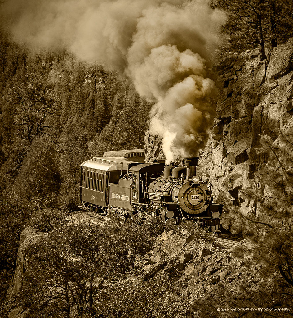 All Aboard the Durango Silverton Railroad Image