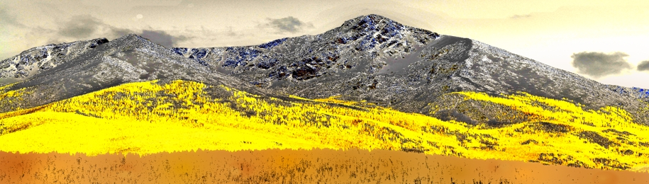 Brilliant Rocky Mountain Gold