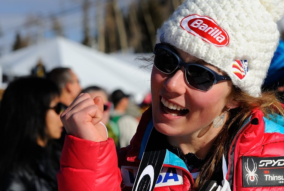 Mikaela Shiffrin Aspen Colorado World Cup Ski Racing Finals Image