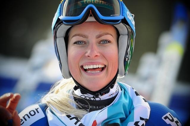 Ragnhild Mowinckel's 8th place finish 2013 FIS Beaver Creek World Cup Giant Slalom