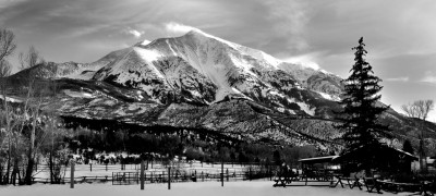 Mount Sopris Elk Mountains Colorado