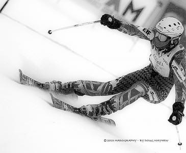 Korbel Champagne American Ski Classic Racer Vail Colorado