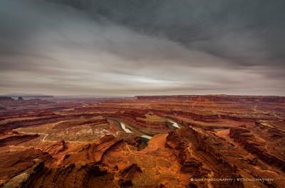 Moody Morning Canyonlands National Park