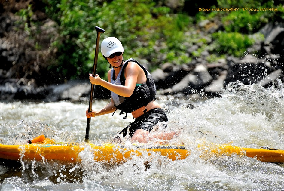 SUP WhiteWater River Running Image
