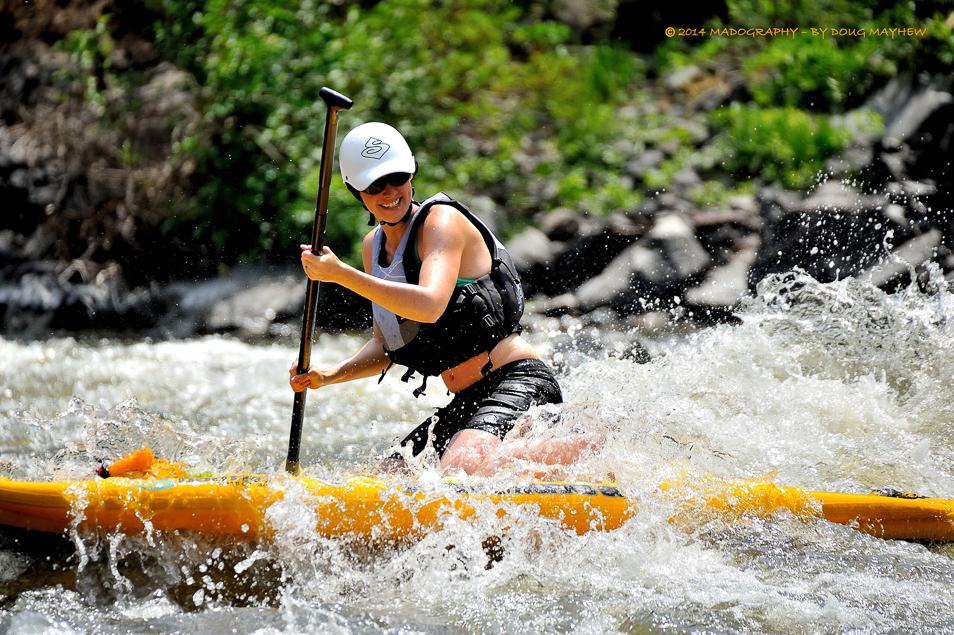 SUP WhiteWater River Running