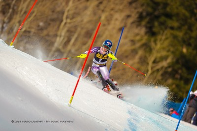 Mikaela Shiffrin 2014 Aspen Winternational by Doug Mayhew | Madographer