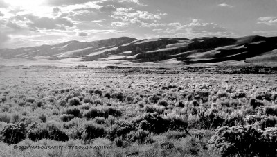 Behind Glistening Pane Great Sand Dunes by Doug mayhew | Madographer