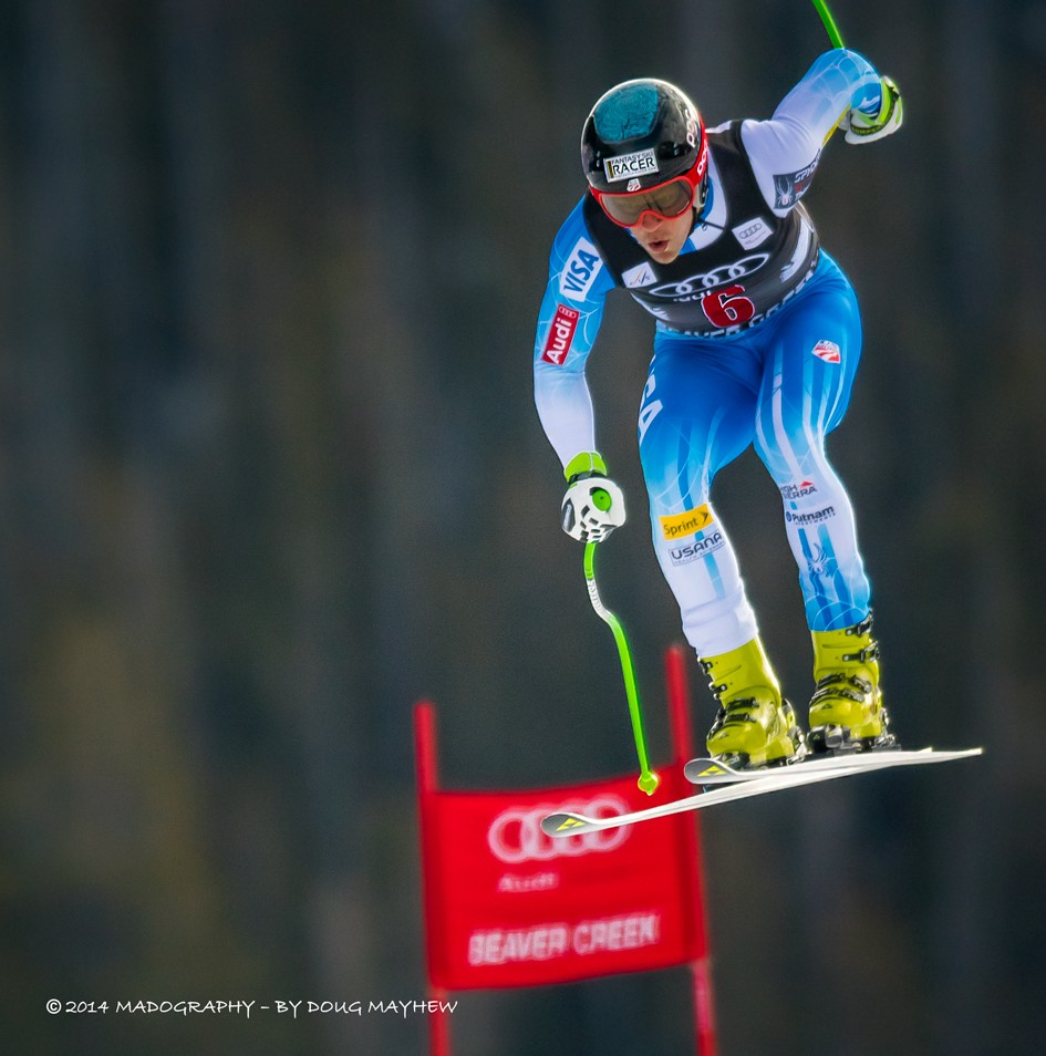 US Ski Team Downhiller Steven Nyman Soars to 3rd Place Finish Image
