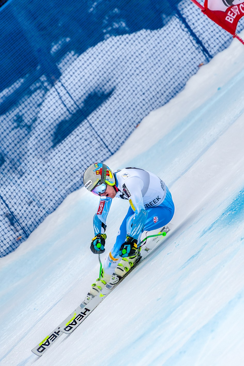 Ted Ligety 2014 Audi FIS Ski World Cup Giant Slalom Winner Image