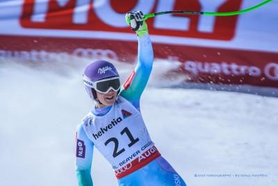 Tina Maze 2015 FIS Alpine World Ski Championships Downhill Gold Medalist by Doug Mayhew | Madographer