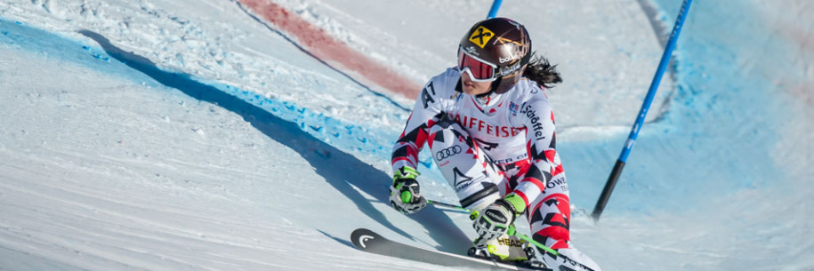 Anna Fenninger 2015 FIS Alpine World Ski Championships Giant Slalom Gold Medalist by photographer Doug Mayhew | Madographer