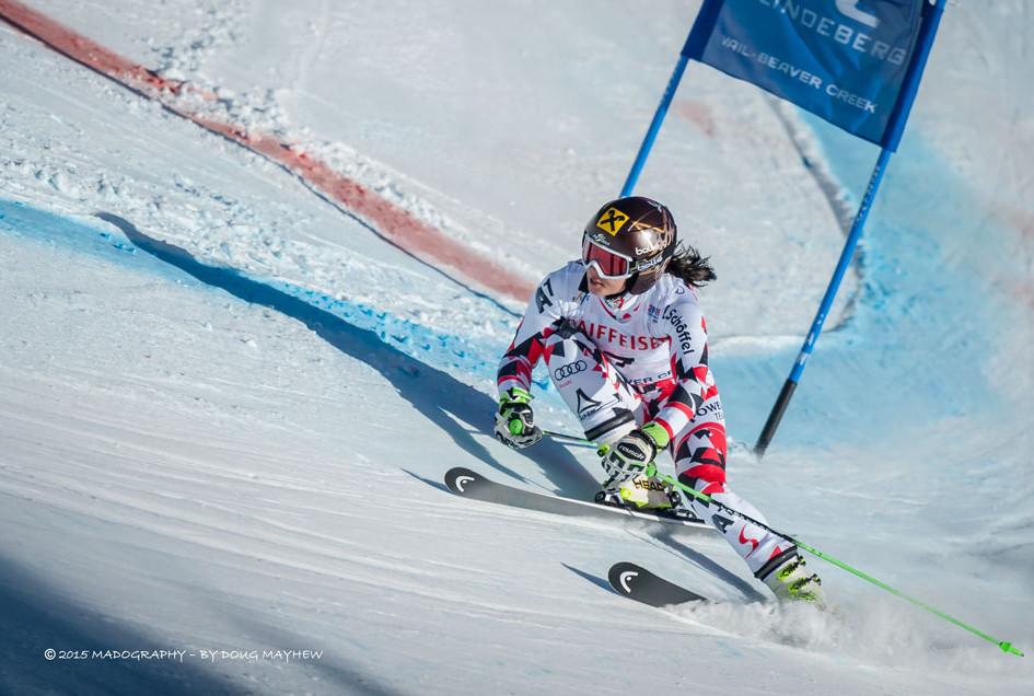 Anna Fenninger 2015 FIS Alpine World Ski Championships Giant Slalom Gold Medalist Image
