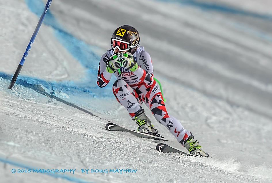 Anna Fenninger 2015 FIS Alpine World Ski Championships Super G Gold Medalist Image
