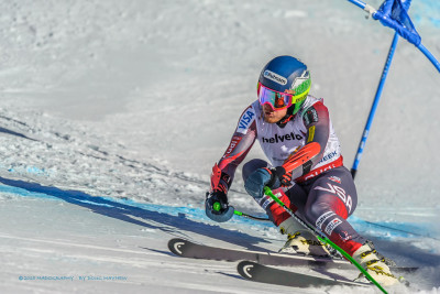 Ted Ligety 2015 FIS Alpine World Ski Championships Giant Slalom Gold Medalist by Doug Mayhew | Madographer