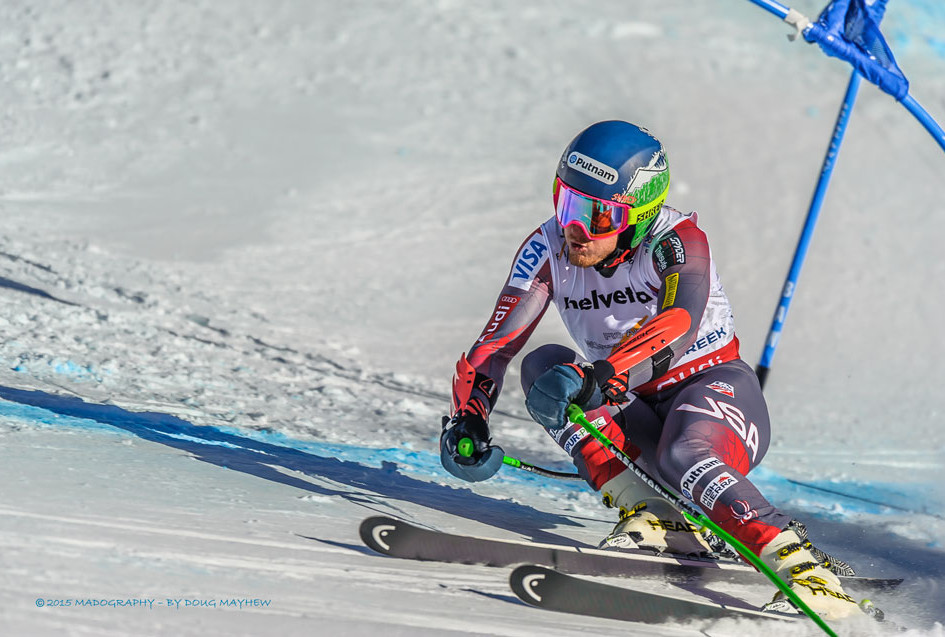 Ted Ligety 2015 FIS Alpine World Ski Championships Giant Slalom Gold Medalist Image