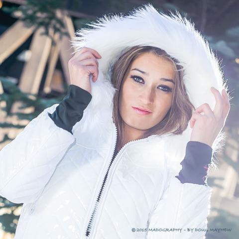 Inna Hope Hostetler Snow Sugar Vail Colorado - MADOGRAPHY by Doug Mayhew   Madographer