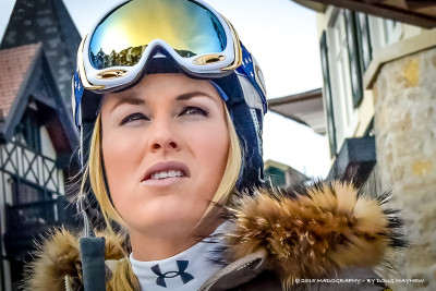 Lindsey Vonn Uncharted Territory - MADOGRAPHY by Doug Mayhew | Madographer