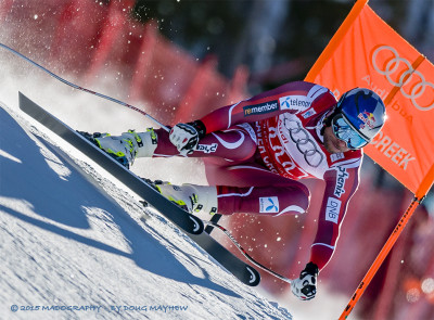 Askel Lund Svindal 2015 Birds of Prey Downhill Winner - MADOGRAPHY by Doug Mayhew | Madographer