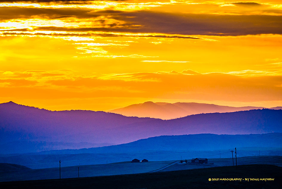 Brilliant Western Sunrise Craig Colorado Image